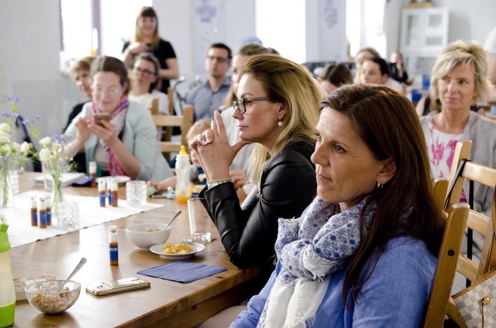 Bloggerinnen beim #blueboxtalk