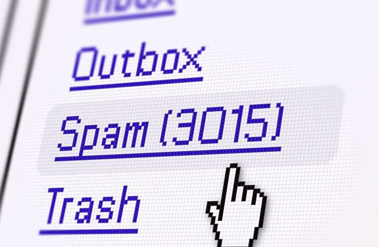 stop email spam