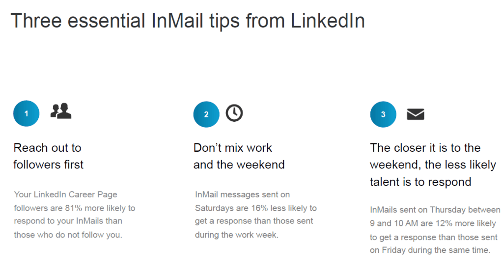 LinkedIn InMails Tips