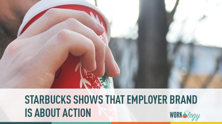 starbucks employer brand, employer brand, starbucks