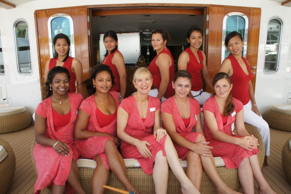 Careers In The Luxury Yachting Industry What Can A Yacht Stewardess Do In The Future Work On