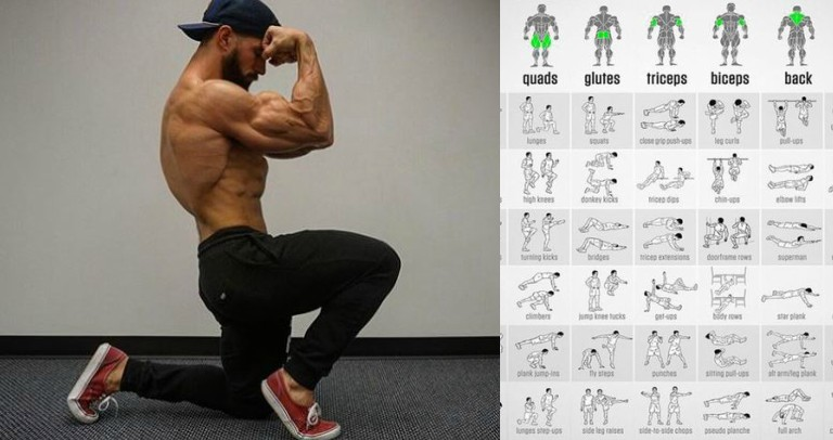 calisthenic programme lean muscle