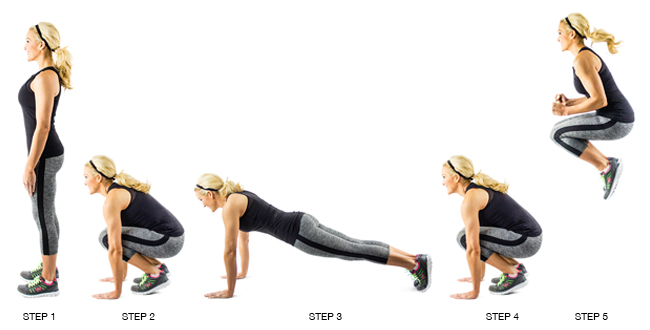 Image result for burpee variations