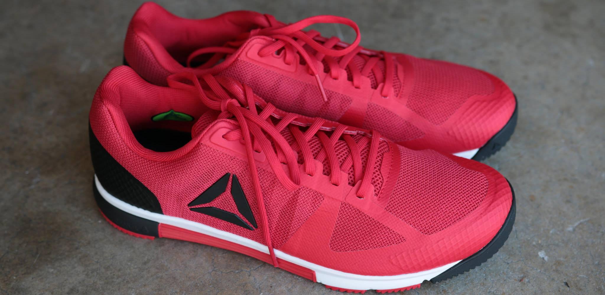 reebok sprint tr2 - red
