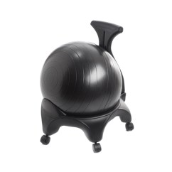 Balance Posture Chair Black And White Styling Exercise Ball Office Desk For W 5 Legs By Privacy Policy