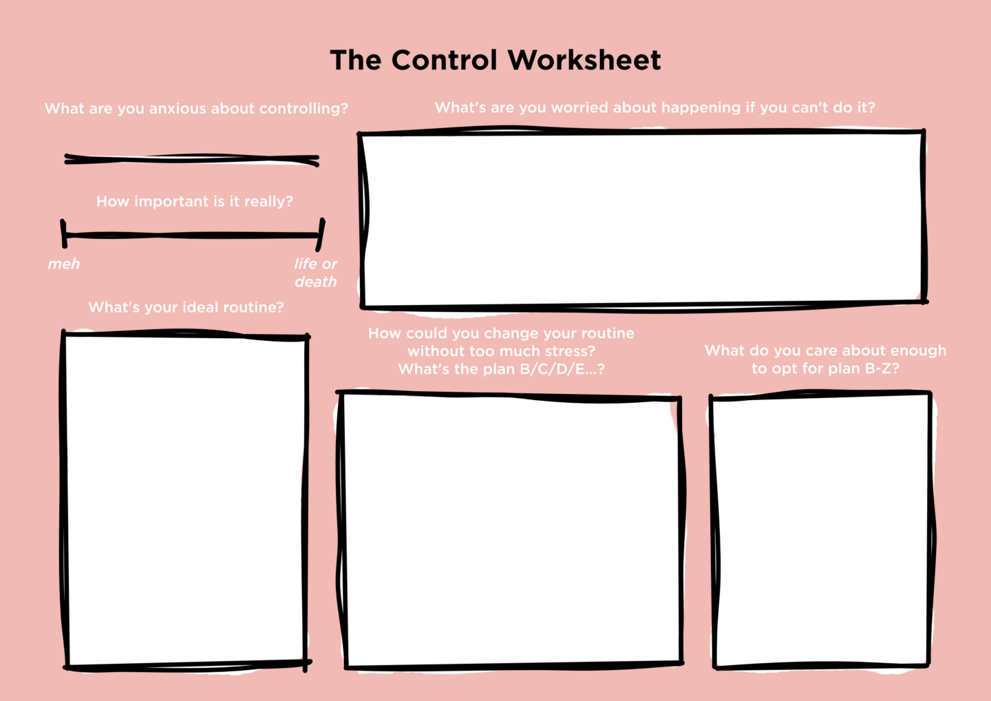 On Fighting Being A Control Freak Work Over Easy
