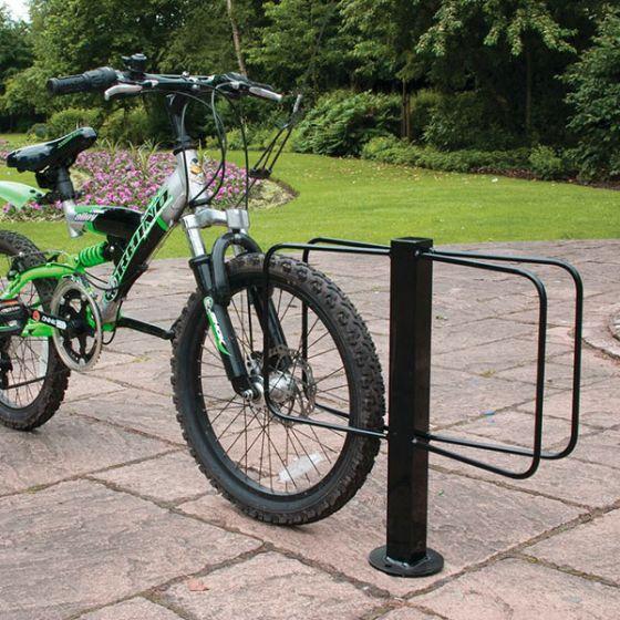 floor mounted cost saver bike rack