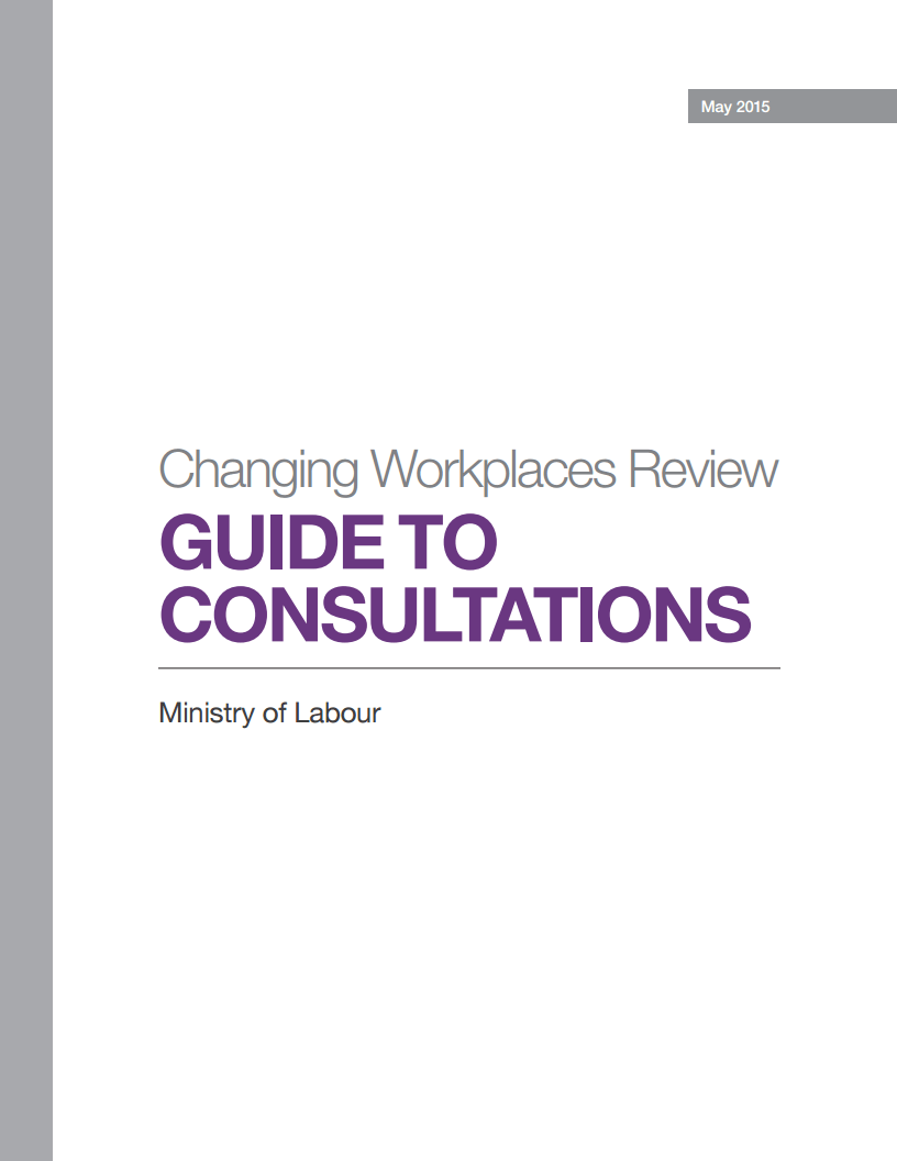 Have your say Public consultation on Ontario labour and employment laws  Workplace Safety North