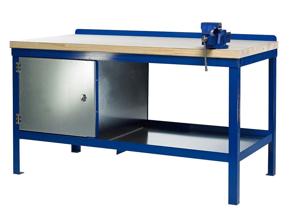 Heavy Duty Wood Top Workbench