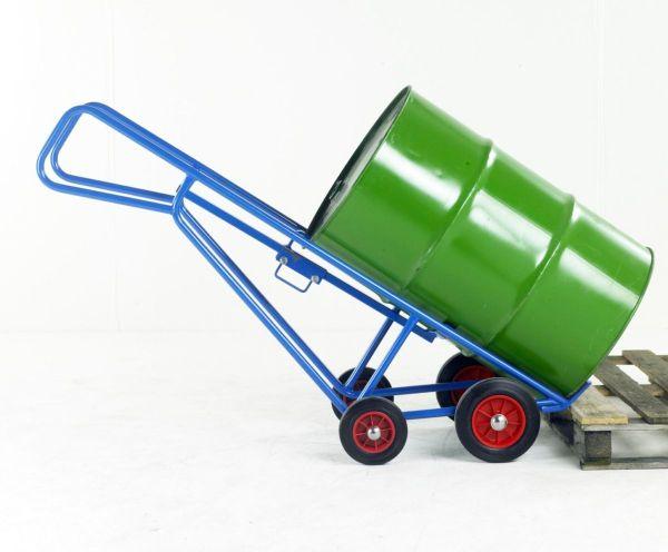 Pallet Loading Drum Truck - Workplace Stuff