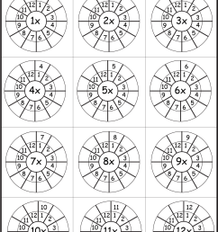 Times Table – 2-12 Worksheets – 1 [ 1958 x 1324 Pixel ]