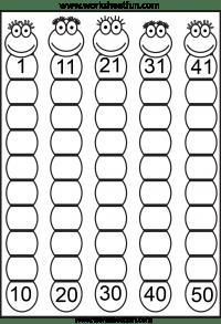 Missing Numbers 1-50