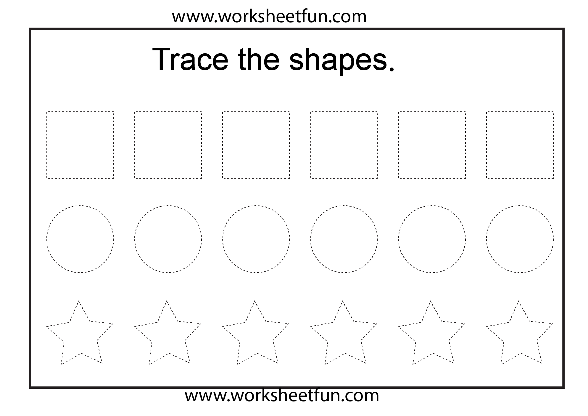 Vertical Lines Worksheet For Nursery