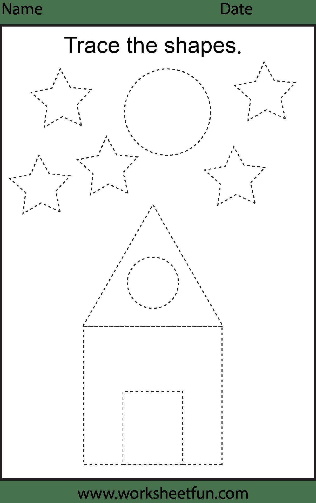 Preschool Worksheets Free Printable Worksheets