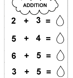 Addition Worksheet Kindergarten - Kindergarten [ 1492 x 1054 Pixel ]