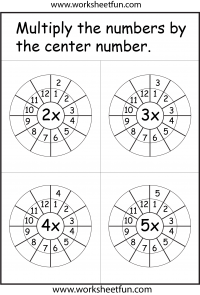 Times Tables / FREE Printable Worksheets