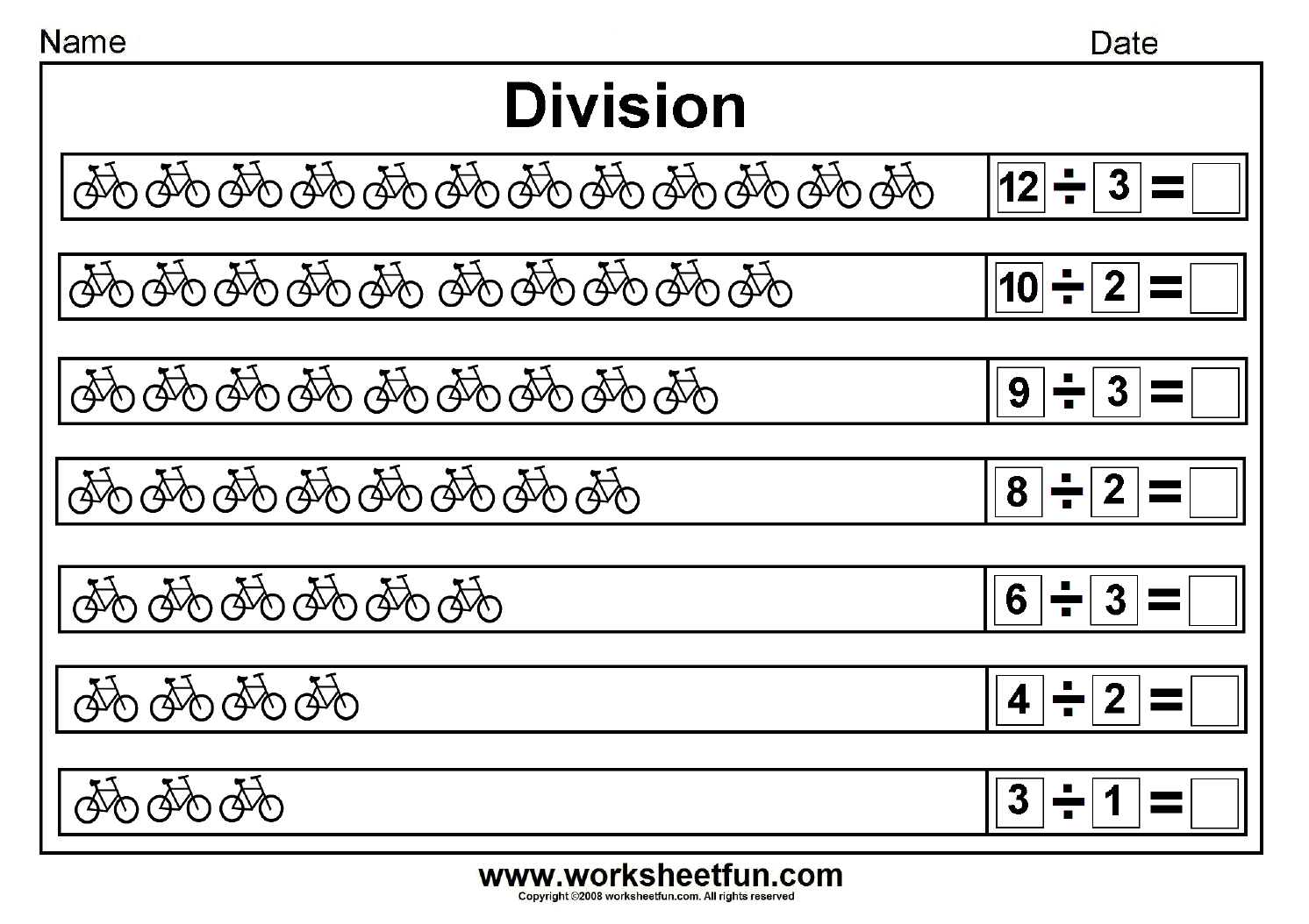 Division Sharing Equally Picture Division 14