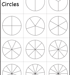 Fraction Circles Template – Printable Fraction Circles – 1 Worksheet / FREE  Printable Worksheets – Worksheetfun [ 1937 x 1324 Pixel ]
