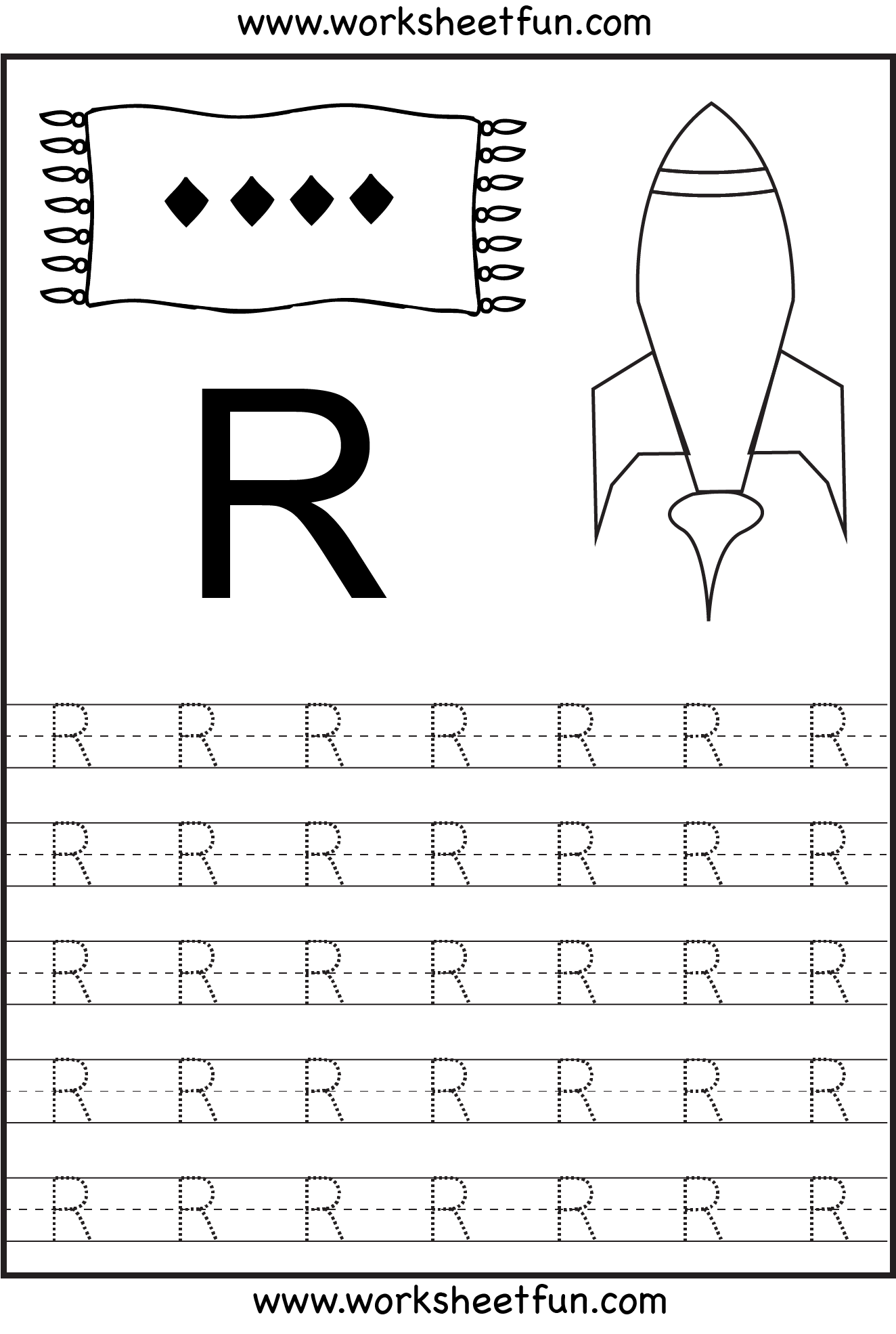 Practice Tracing Letters A Z