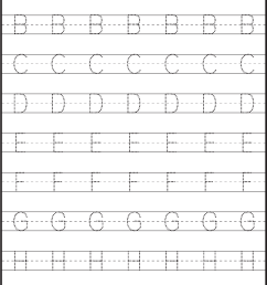 Tracing – Uppercase Letters – Capital Letters – 3 Worksheets / FREE  Printable Worksheets – Worksheetfun [ 1949 x 1324 Pixel ]
