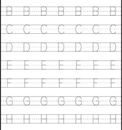 Tracing – Uppercase Letters – Capital Letters – 3 Worksheets / FREE  Printable Worksheets – Worksheetfun [ 1949 x 1324 Pixel ]