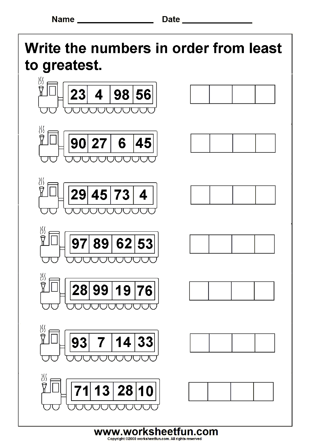 hight resolution of Kindergarten Math Ascending Order Worksheets - Preschool Worksheet Gallery
