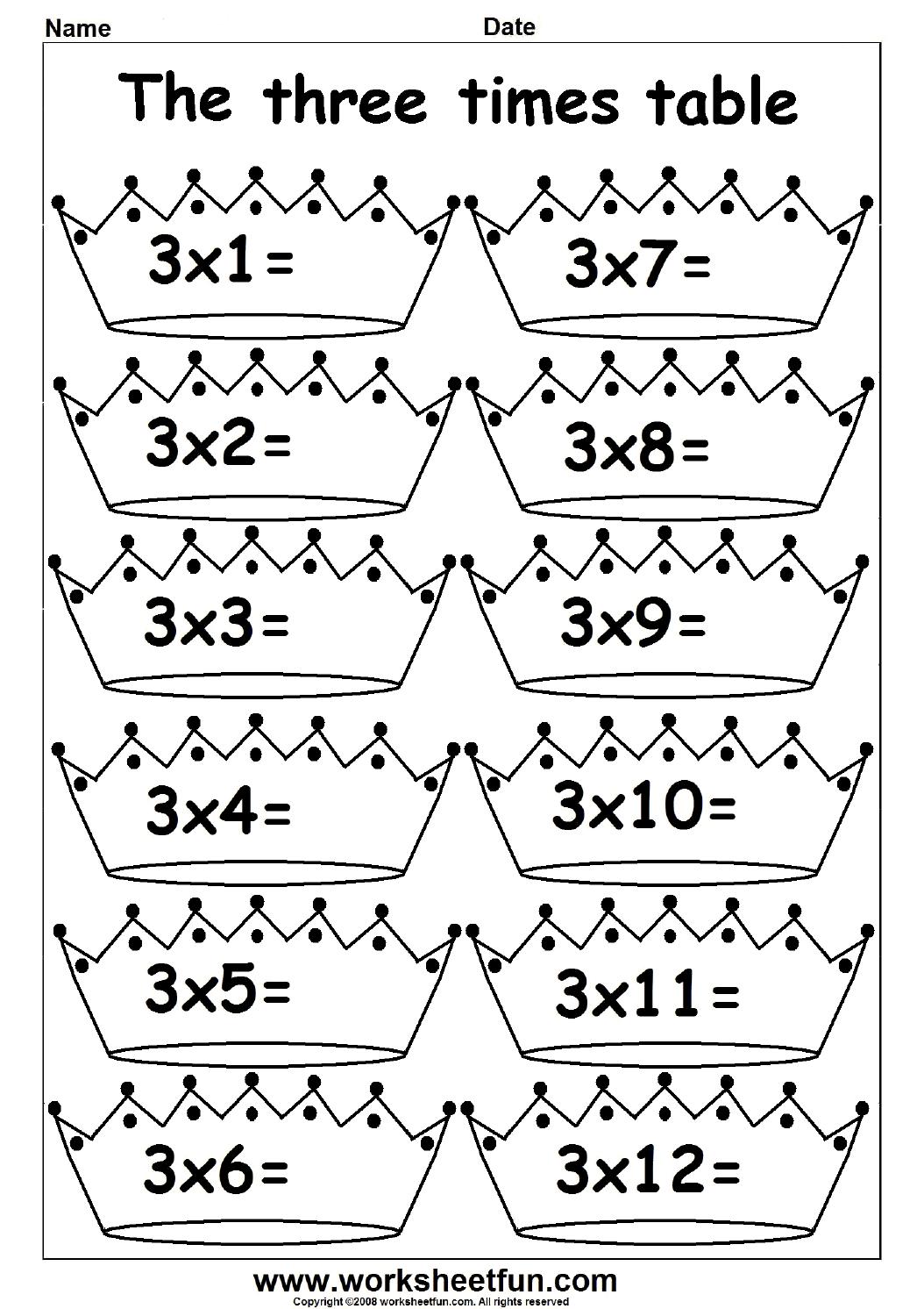 Tables De Multiplication Liens