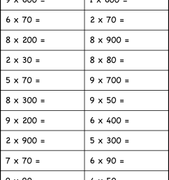 Multiplication with multiples of 10 – 1 Worksheet / FREE Printable  Worksheets – Worksheetfun [ 1967 x 1246 Pixel ]