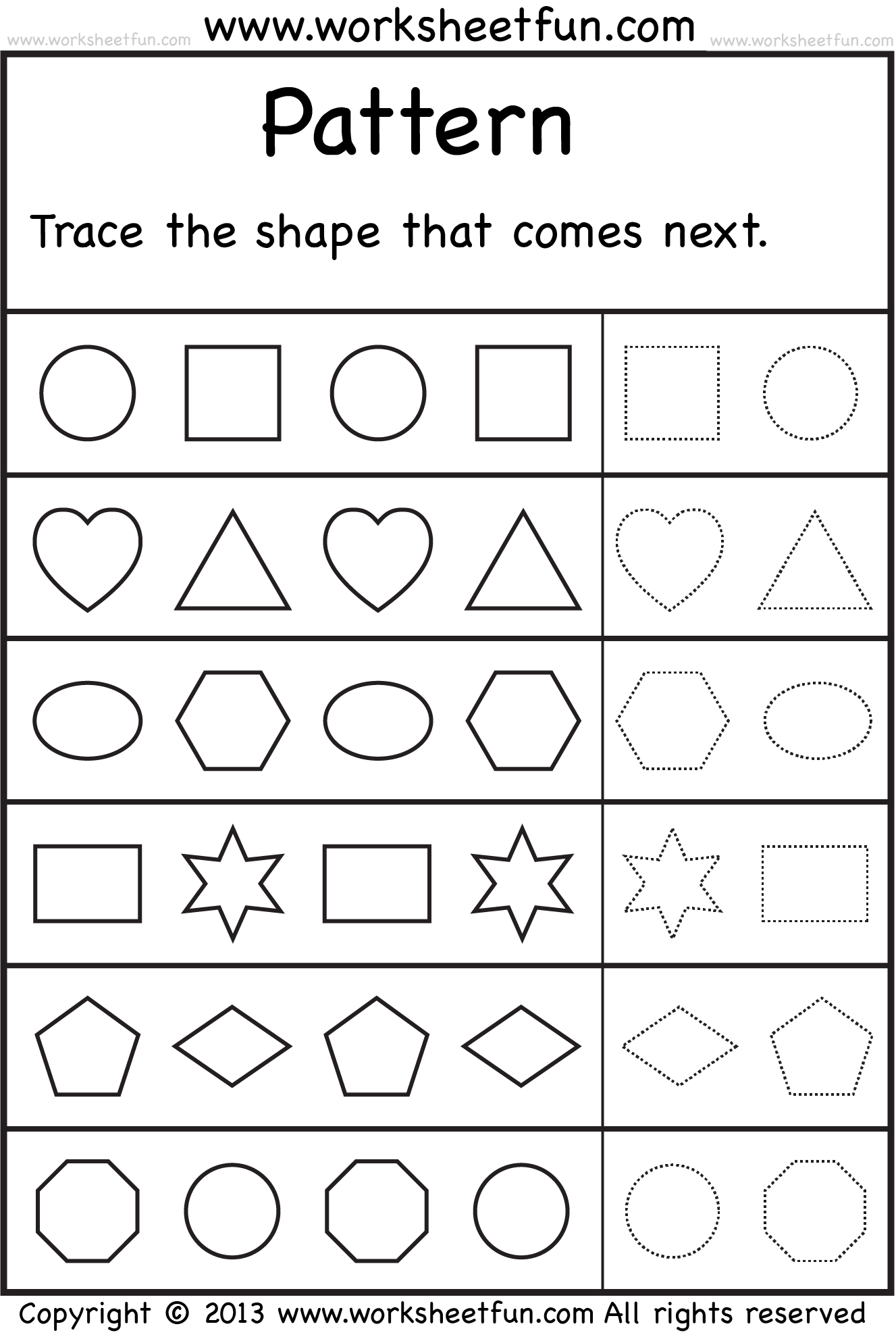 Preschool Worksheets Free Printable Worksheets