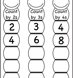 Skip Counting by 2 [ 1982 x 1327 Pixel ]