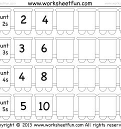 Skip Counting by 2 [ 1464 x 1823 Pixel ]