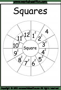Squares – 1-12