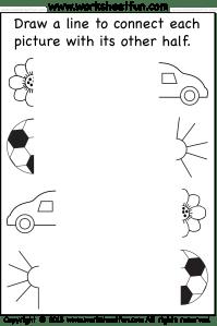Preschool Worksheets / FREE Printable Worksheets
