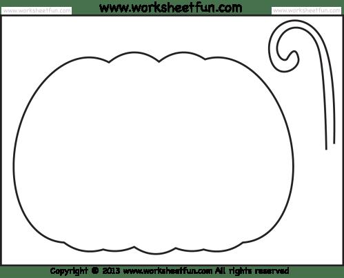 small resolution of Halloween Printable Stencils for Pumpkin – 2 Worksheets / FREE Printable  Worksheets – Worksheetfun