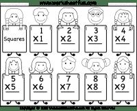 Squares – 1-9