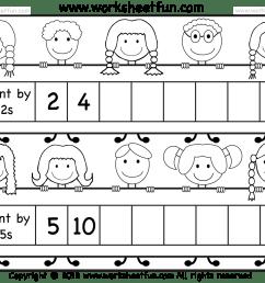 Skip Counting by 2 and 5 – Worksheet / FREE Printable Worksheets –  Worksheetfun [ 1462 x 1810 Pixel ]