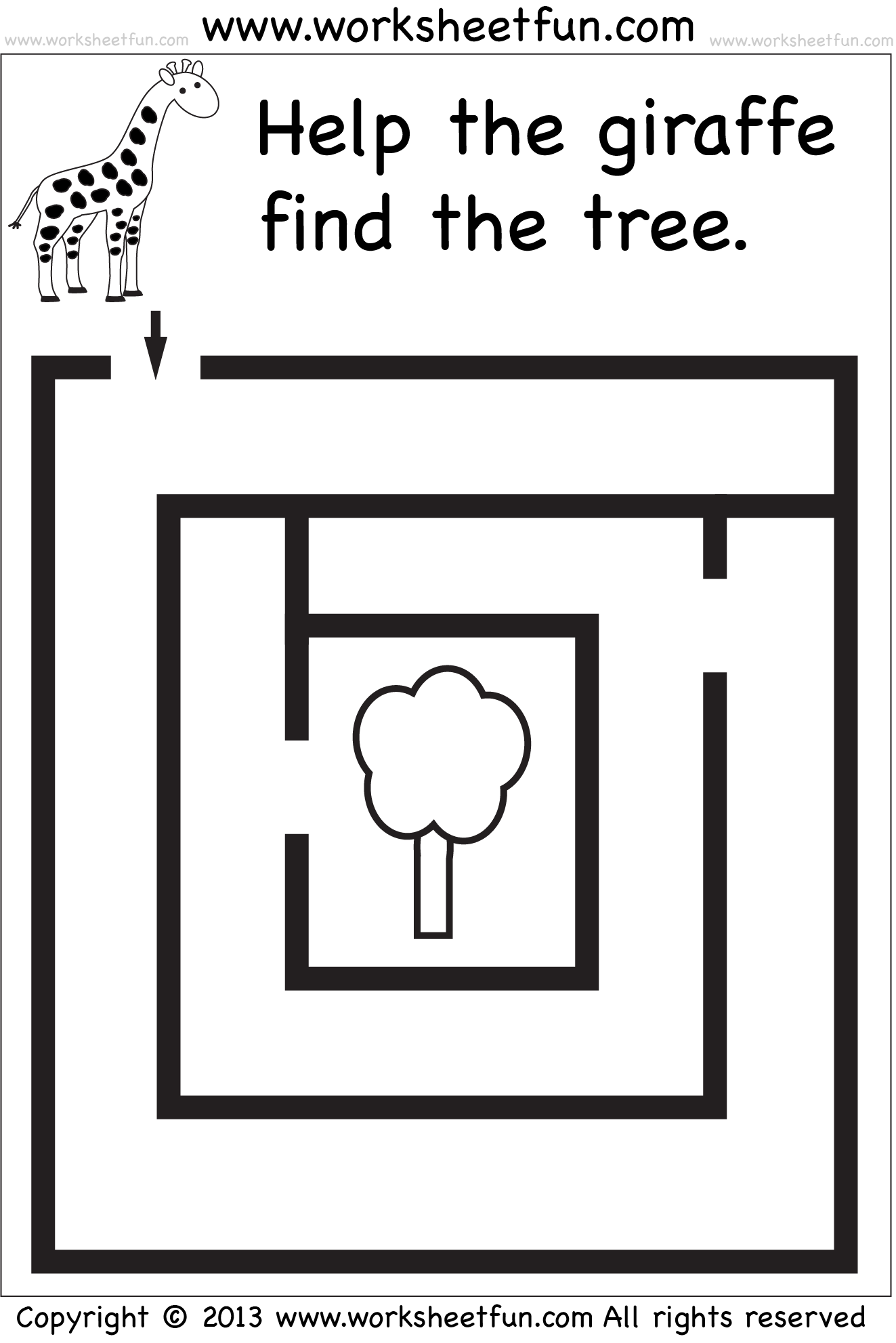 Nurse Maze Worksheet For Preschool