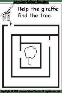 mazes_wfun_5 | Grafomotorika | Pinterest | Kindergarten ...