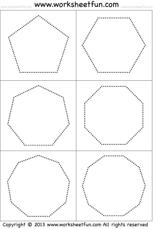 small resolution of Shapes – Polygons – Pentagon