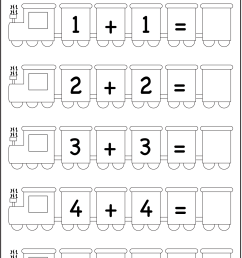 Addition Doubles – 1 Worksheet / FREE Printable Worksheets – Worksheetfun [ 1982 x 1325 Pixel ]