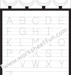Letter Tracing Worksheet – Capital Letters / FREE Printable Worksheets –  Worksheetfun [ 1982 x 1317 Pixel ]