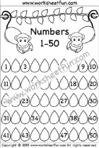Missing Numbers – 1-50