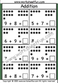 Addition Picture Free Printable Worksheets Worksheetfun