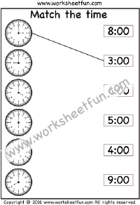 Time / FREE Printable Worksheets