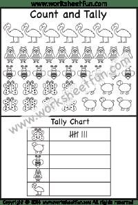 Number Counting / FREE Printable Worksheets