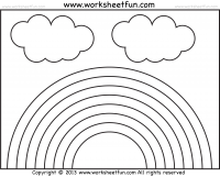 Rainbow / FREE Printable Worksheets