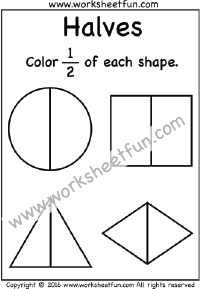 line of symmetry / FREE Printable Worksheets
