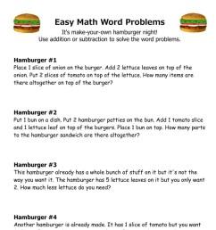 10 Amazing 1st Grade Math Word Problems Worksheets Samples   Worksheet Hero [ 1881 x 1493 Pixel ]