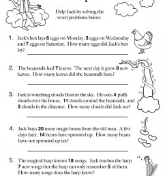 10 Amazing 1st Grade Math Word Problems Worksheets Samples   Worksheet Hero [ 2157 x 1675 Pixel ]