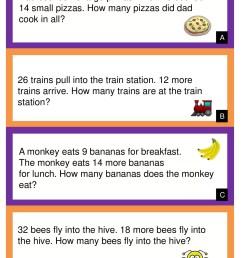 10 Amazing 1st Grade Math Word Problems Worksheets Samples   Worksheet Hero [ 1785 x 1309 Pixel ]